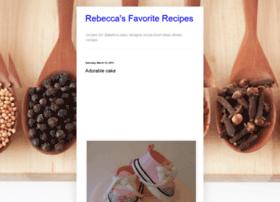 rebeccafavoriterecipes.blogspot.com