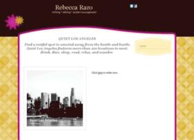 rebeccarazo.com