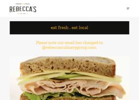 rebeccascafe.com