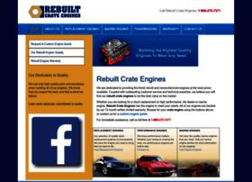 rebuiltcrateengines.com