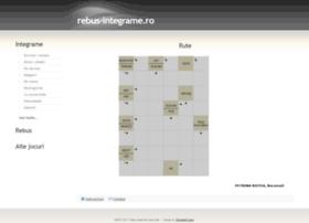 rebus-integrame.ro