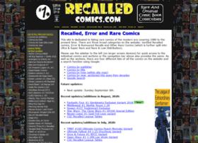 recalledcomics.com
