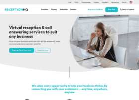 receptionhq.com