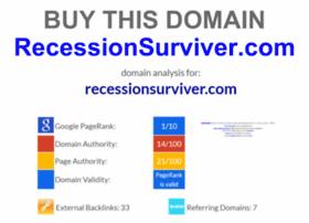 recessionsurviver.com