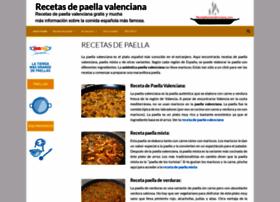 recetapaellavalenciana.com