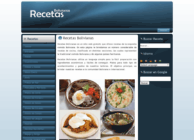 recetasbolivianas.info