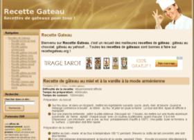 recettegateau.org