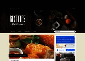 recettesquebecoises.com