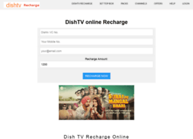 rechargedishtv.in