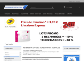 recharges-stylos.fr