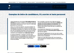 recherche-lettre.com
