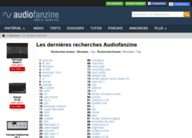 recherche.audiofanzine.com
