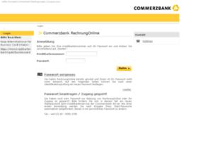 rechnungonline.commerzbank.de