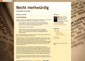 recht-merkwuerdig.blogspot.com