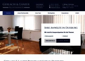 rechtsanwaelte-gerlach-lanfer.de