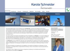 rechtsanwaeltin-schneider.de