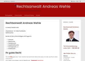 rechtsanwalt-andreaswehle.de