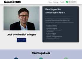rechtsanwalt-metzler.de