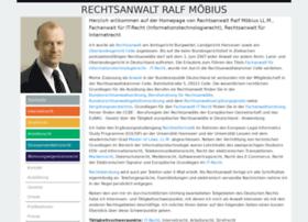 rechtsanwaltmoebius.de