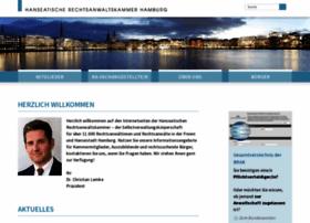 rechtsanwaltskammerhamburg.de
