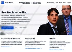 rechtsanwaltskanzlei-warai.de