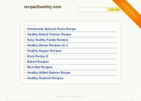 recipe2healthy.com