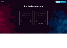 recipefusion.com