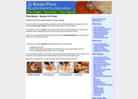 recipepizza.com