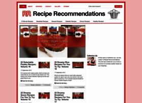 reciperecommendations.com