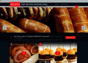 recipes-and-writing-international.blogspot.com
