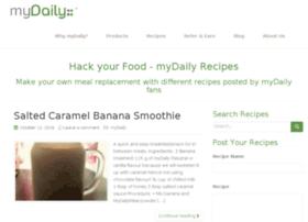 recipes.mydailymeal.com