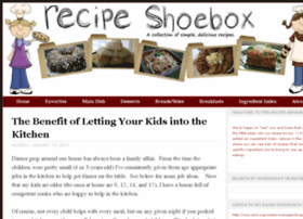 recipeshoebox.blogspot.com