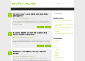 recipetoriches.ca