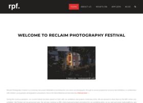 reclaimphotographyfestival.org