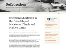 recollections.wheaton.edu