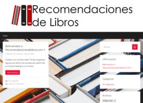 recomendacionesdelibros.com
