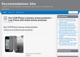 recommendationssite.com