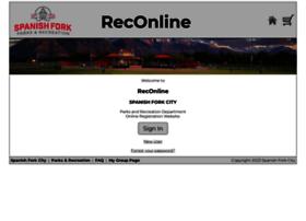 reconline.spanishfork.org