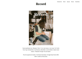 record-magazine.com