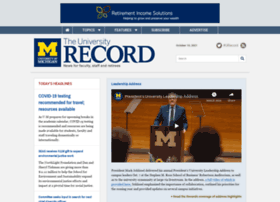 record.umich.edu