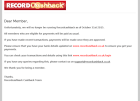 recordcashback.co.uk