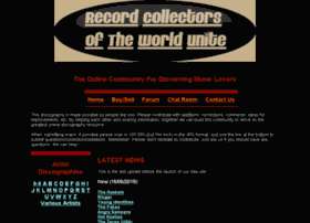recordcollectorsoftheworldunite.com