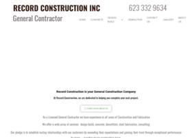 recordconstruction.com