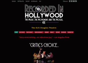 recordedinhollywood.com