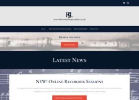 recordershoplondon.co.uk