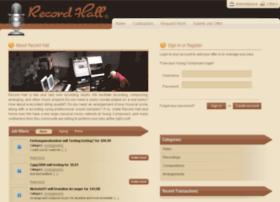recordhall.com