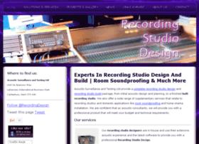 recording-studio-design.co.uk