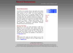 recordrestorations.com