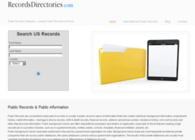 recordsdirectories.com