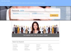 recordsjobs.com